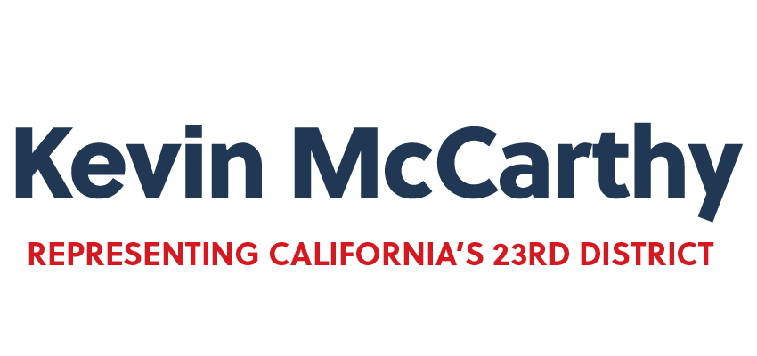 Email Me | Congressman Kevin McCarthy